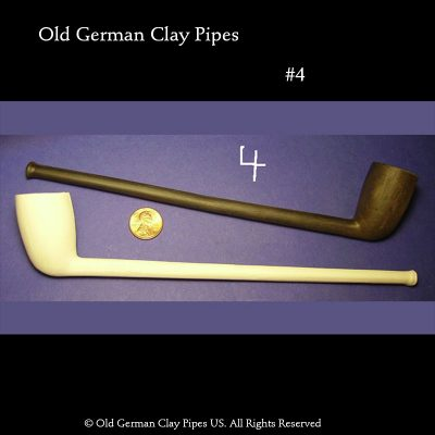 Old German Clay Pipes