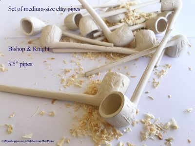 Bishop & Knight clay pipe