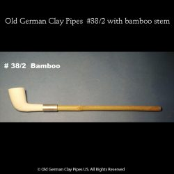 Old German Clay Pipe #38/2
